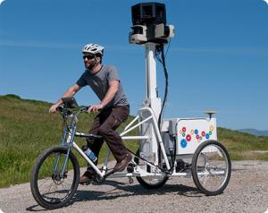 google bike street view